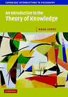 An Introduction to the Theory of Knowledge by Noah M. Lemos (Paperback, 2007)