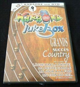 Karaoke-sur-DVD-Grands-Succes-Country-Vol-13-2-Albums-en-1-Karaoke-Jukebox