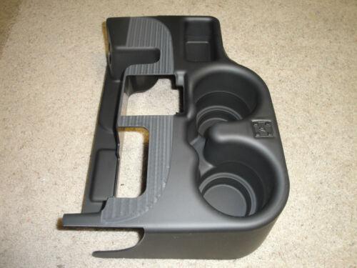 BLACK NEW 2003-12 DODGE RAM CENTER CONSOLE CUPHOLDER ADD-ON 1500//2500//3500