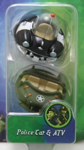 /'Police Car /& ATV/' by Jazwares 2009 Movie /'Planet 51/' Mini Vehicle Figures