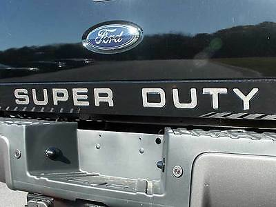 FITS FORD F250 F350 2008-2016 STAINLESS CHROME TAILGATE LETTERS INSERTS 9PC
