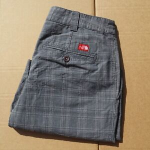 Mens-Vintage-The-North-Face-Chino-Shorts-Size-8-Grey