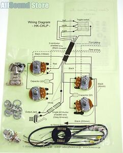 NEW- Wiring Kit for Gibson EPIPHONE® LES PAUL COMPLETE w Diagram - MADE IN  JAPAN | eBayeBay