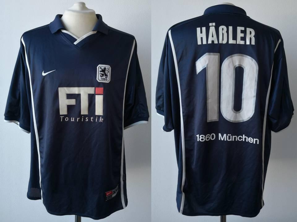 TRIKOT TSV 1860 München 1999 2000 Häßler  10 MUNICH NIKE SHIRT FUSSBALL VINTAGE