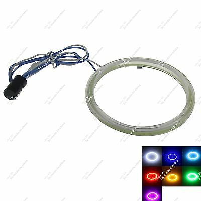 1X 70mm COB Led Halo Rings Angel Eye for Cars Headlights Multicolor Non Polarity