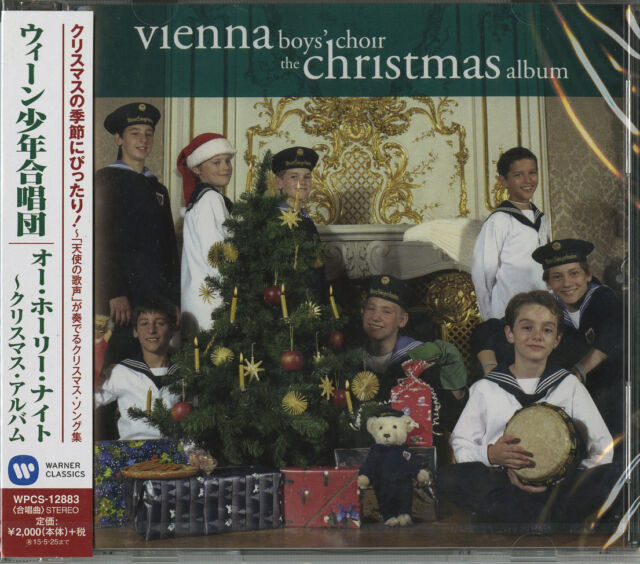 Vienna Boys Choir Christmas.Vienna Boys Choir The Christmas Album Japan Cd E25