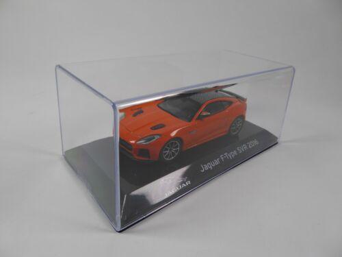 Jaguar F-Type SVR 2016-1:43 IXO Supercars Model Diecast Italian Edition S17