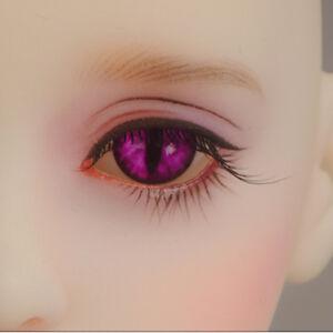 OMeta Half Round Acrylic Eyes CE-07 BJD Acrylic cat ooak 12mm