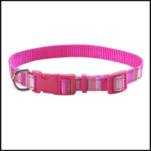 PINK-CHARITY-BREAST-CANCER-CAMPAIGN-DOG-COLLAR-amp-LEAD-FREE-POSTAGE