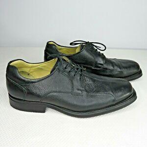 Studio-Belvedere-Bay-Bridge-Mens-Shoes-Size-12-Pebbled-Leather-Oxford-Split-Toe