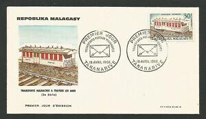 Actif Fdc 1er Jour Madagascar Répoblika Malagasy 1966 Tananarive /l1732