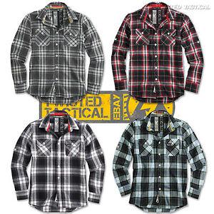 Surplus-Lumberjack-Mens-Casual-Or-Work-Long-Sleeve-Checked-Shirt-Brushed-Cotton