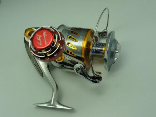UJ PRK 45 type II knob for Daiwa Saltiga Shimano Stella Saragosa reel Red//SV