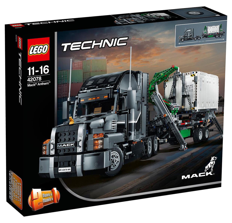LEGO TECHNIC 42078 MACK TRUCK Anthem exclusive