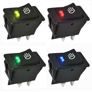 4x 12v auto kfz mini wippenschalter schalter led. Black Bedroom Furniture Sets. Home Design Ideas