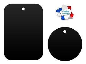 Sticker Decal Placa Metal Para Soporte Teléfono Imantado Universal