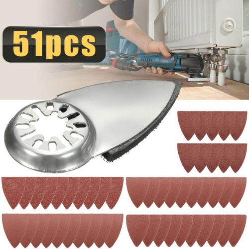 Ersatz Schleifpapier 51pcs Multi-Tool Zubehör Für Bosch Multi-X Handwerker
