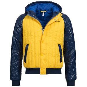 8182096505ee Das Bild wird geladen  adidas-NEO-Hooded-Padded-Jacket-Herren-Winterjacke-Outdoor-
