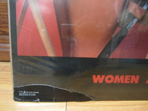 Women at work ORIGINAL Vintage Poster 1986  10654