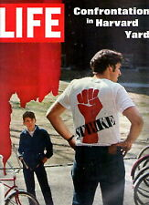 Life Magazine APR 25 1969 Confrontation in Harvard Yard, Artic Mystery