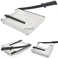 Adjustable A4 Paper Cutter Trimmer Desktop Stack12 Sheet Capacity