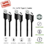6Ft-2M-Type-C-USB-C-Fast-Charger-Data-Sync-Cable-Cord-OEM-Samsung-Android-HTC-LG miniature 9