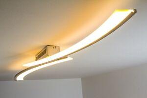 Lampada Led Da Soffitto : Led lampada da soffitto plafoniera design moderno 1x21 6w acciaio