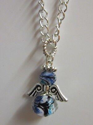 30xTibetan Silver Dainty Angel Fairy Charm DIY Jewelry Accessory Craft
