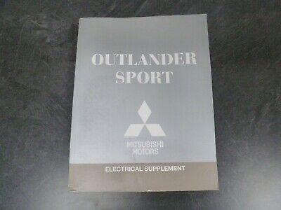 2018 Mitsubishi Outlander Sport Electrical Wiring Diagrams ...