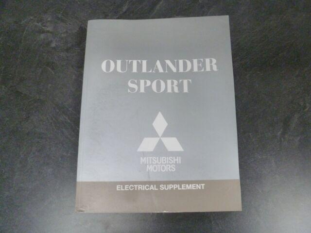 2018 Mitsubishi Outlander Sport Electrical Wiring Diagrams