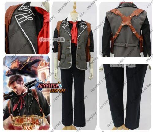 Bioshock 3 Infinite Booker DeWitt Cosplay Costume