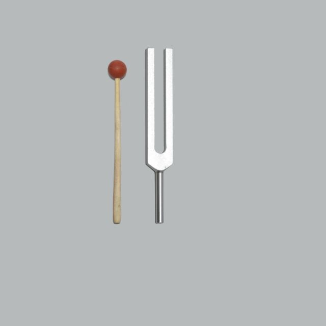 Professional 586 Hz Circulation Tuning Fork+Mallet for Sound Healing Therapy