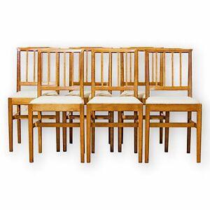 6-Acornman-Ex-Mouseman-Arts-amp-Crafts-Cotswold-School-English-Oak-Chairs-1990