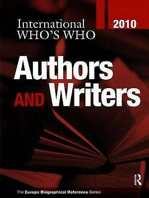 International Who's Who of Authors & Writers 2010, , New Book
