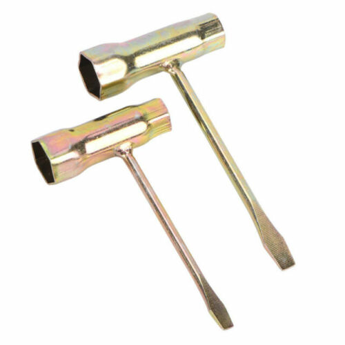 13mmx19mm Chain Saw Bar T-Wrench Spanner Tool For Carburetor Carb To ykBW