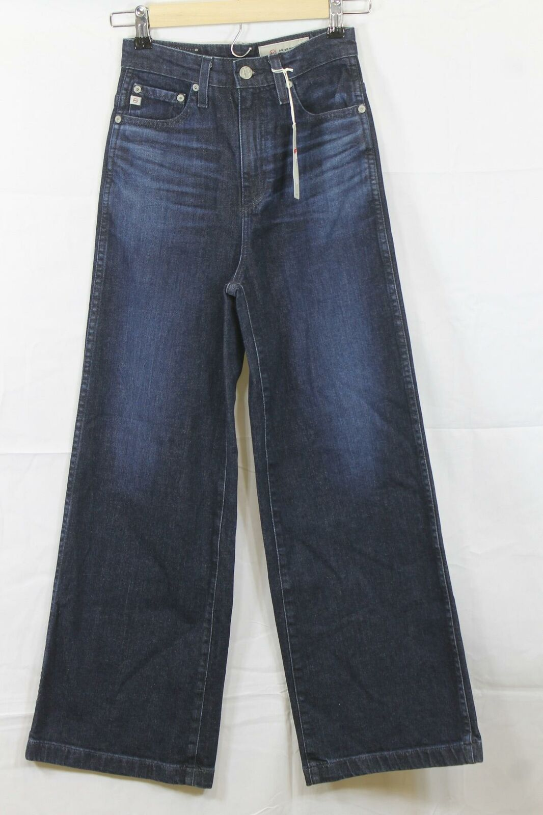 Womens Adriano goldschmied Yvette High Rise Wide Leg Jeans Size 24 NWT