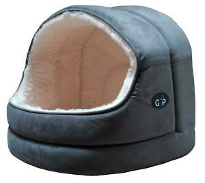 Nordic-Hooded-Bed-Medium-Grey