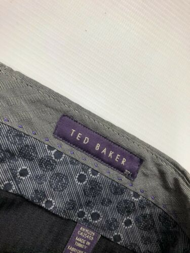 L34 Grey Great Trousers Baker Condition Men's Ted W32 wqtfzxXT