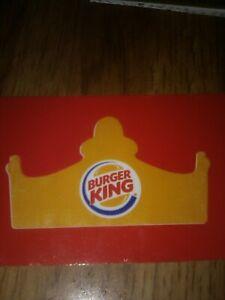 Burger King crown gift card