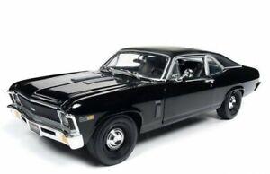 CHEVROLET Nova - YENKO - 1969 - black - Auto World 1:18