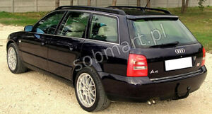 audi a4 b5 avant dachspoiler spoiler ebay. Black Bedroom Furniture Sets. Home Design Ideas