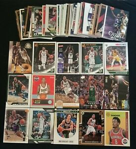 86-x-Milwaukee-Bucks-NBA-Basketball-Cards-1990-2020-Bulk-Lot-inc-Rookies