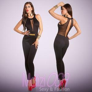 0e6294742e7c Caricamento dell immagine in corso Tuta-Elegante -donna-Overall-intera-jumpsuit-MADE-IN-