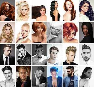 HAIRDRESSER-BARBER-HAIR-SALON-HAIRSTYLE-POSTER-PRINT-Sizes-A6-to-A1