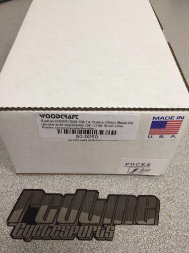 Sliders Set Woodcraft 2009-2016 Suzuki GSXR 1000 Frame Slider