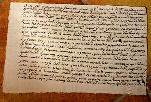 1697-LOUIS-XIV-royal-notary-signed-manuscript-regular-oncial-medieval-writing