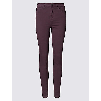 EX M&S COLLECTION 9334 5 POCKET JEGGINGS MID RISE 4 COLOURS ADDED STRETCH