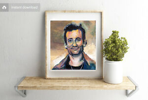 Bill-Murray-Acrylic-Painting-Digital-4x4-Artwork-Graphic-Celebrity-Comedian-Art