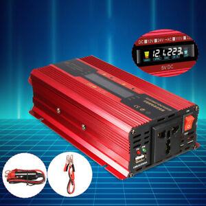 INVERTER-PER-AUTO-DA-4000-W-12-24V-A-CA-220-110V-CONVERTITORE-SINE-WAVE-CONVERTE