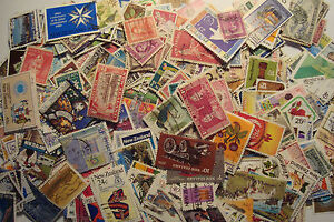 Quality-Packet-of-500-Different-Used-New-Zealand-Stamps-Collection-UK-Seller